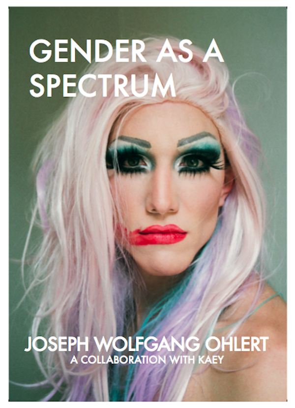 Das Coverbild von COVERBILD Gender as a Spectrum einem Buch von Wolfgang Joseph Ohlert
