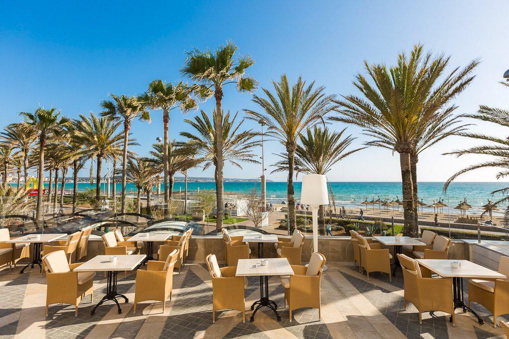 Hotel Garonda Mallorca Terrasse