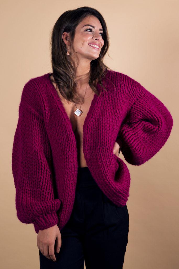 Ganzkörperbild der Influencerin Lisa Döhl