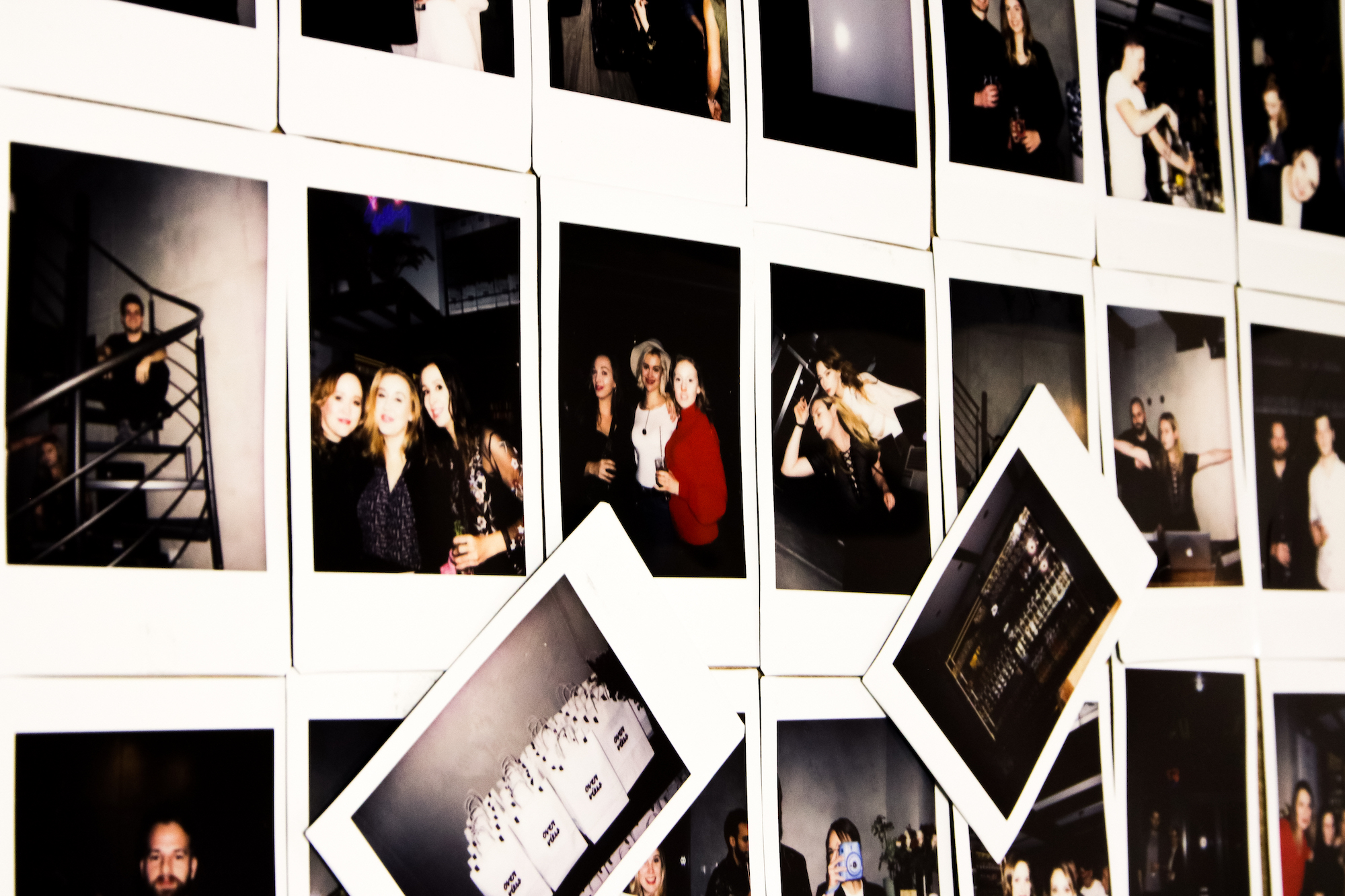 Ganz viele Polaroids von Instax Mini 9