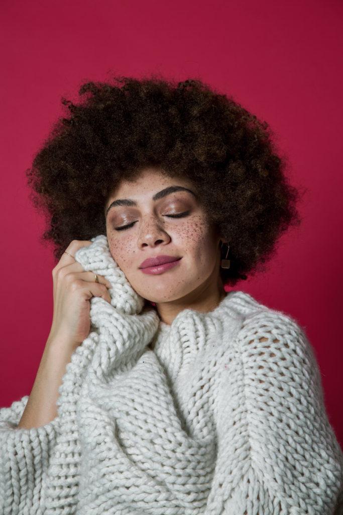 Porträt der Bloggerin und Influencerin Julia Dalia