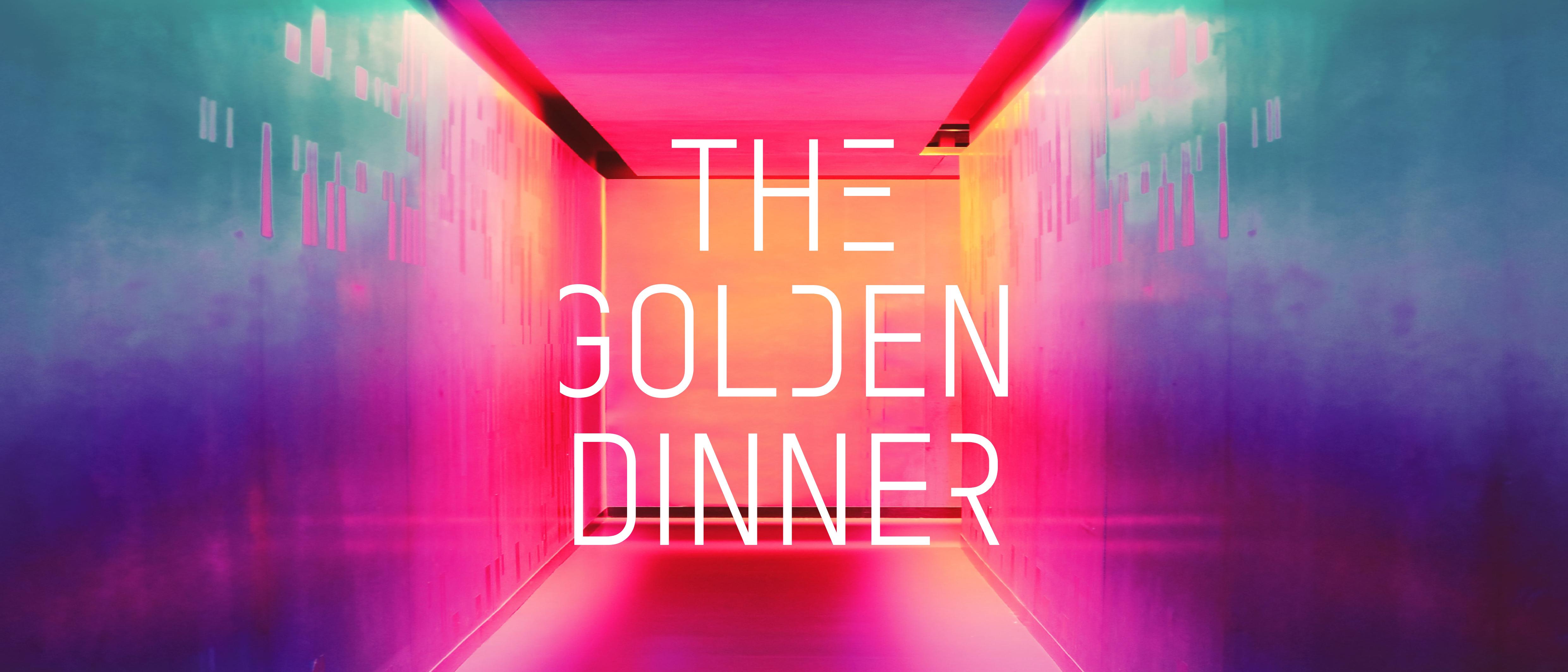 Flyer des Golden Dinners von Muxmäuschenwild