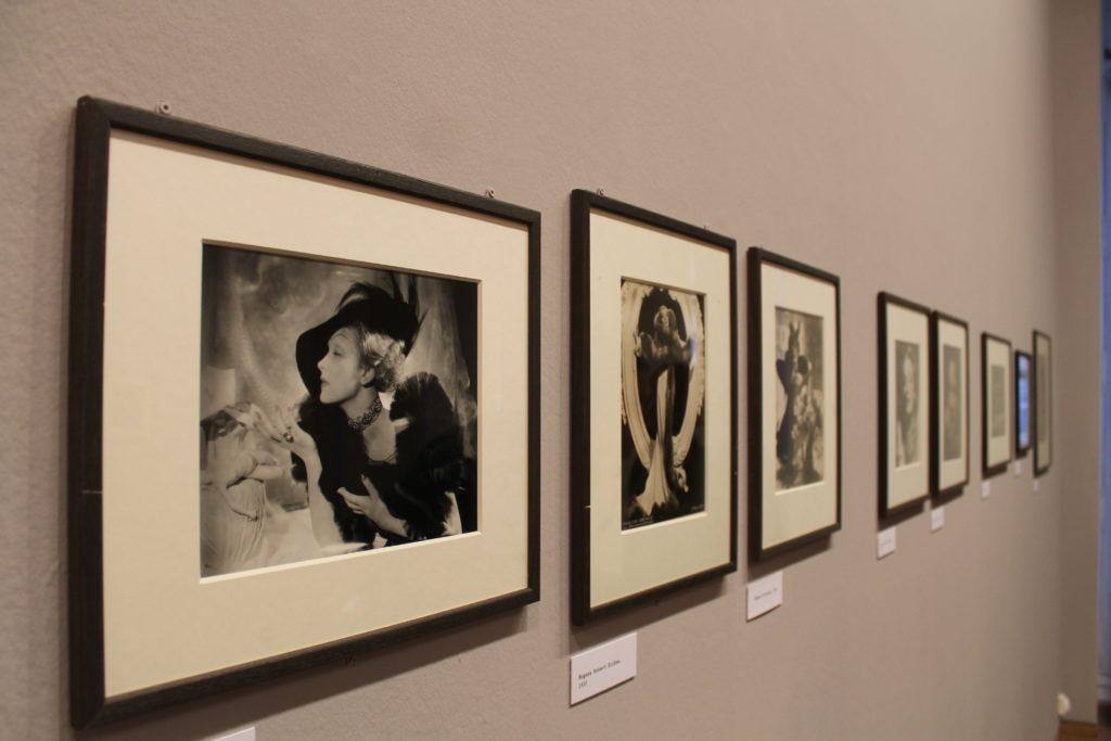 Bilder aus der Marlene Dietrich Ausstellung in Paris