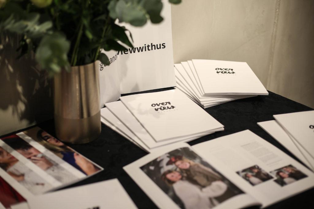 Printmagazin Overview Magazine beim Launch Event