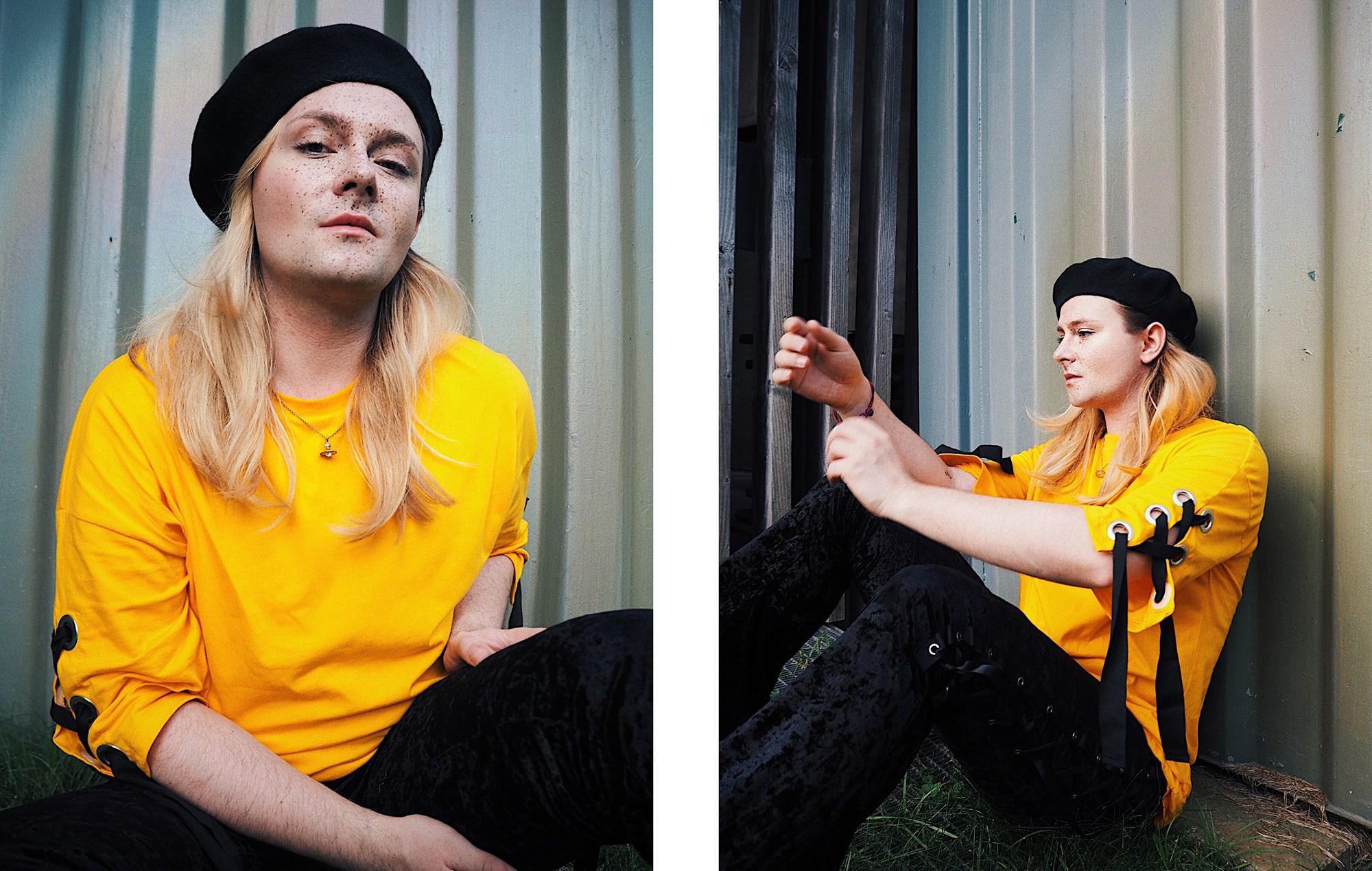 Porträt von Musiker und Influencer Jack Strify