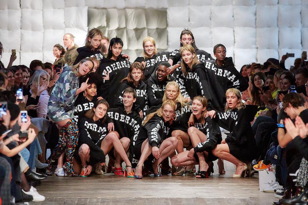 Finale: MArina Hoermanseder Fashionshow AW 2018/2019
