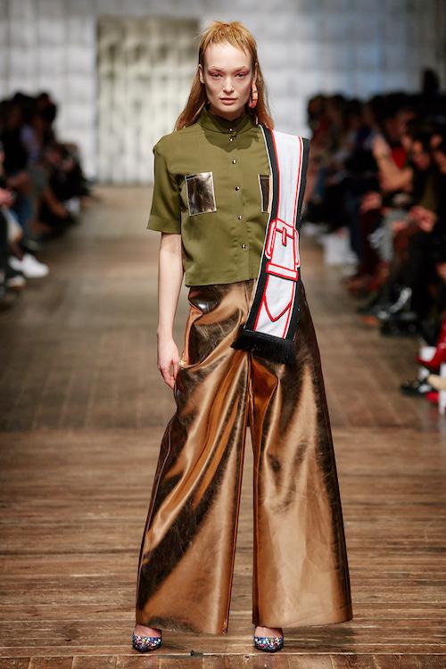 Look Marina Hoermanseder Fashionshow AW 2018/2019