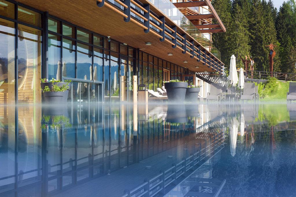 Hotel Das Goldberg in Bad Hofgastein in Österreich, Wellnessbereich