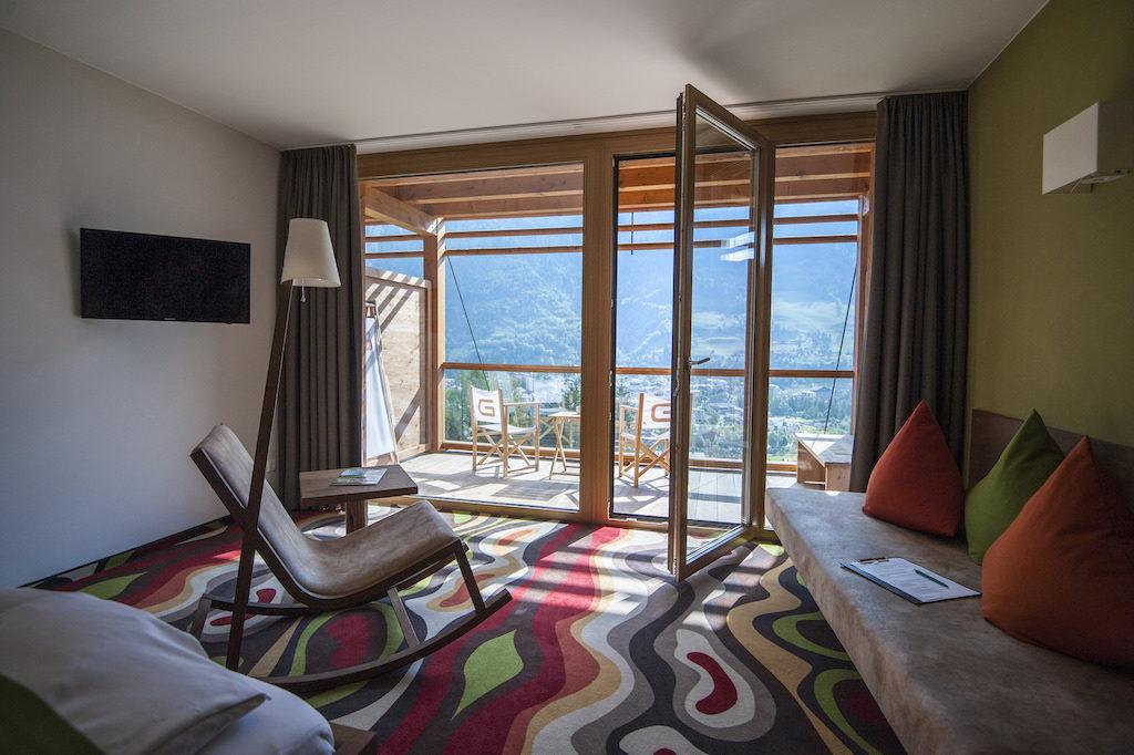 Hotel Das Goldberg in Bad Hofgastein in Österreich, Hotelzimmer