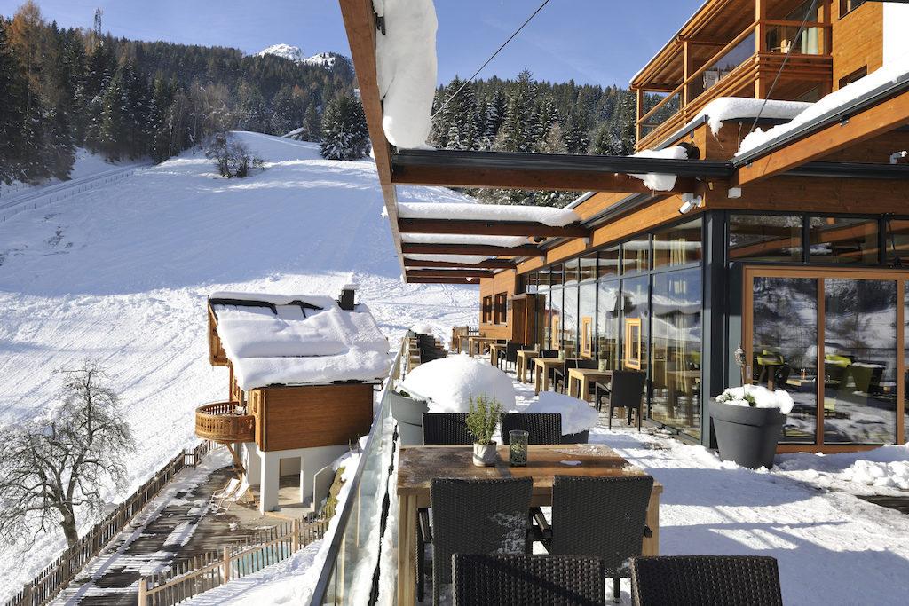 Hotel Das Goldberg in Bad Hofgastein in Österreich, die Außenfassade