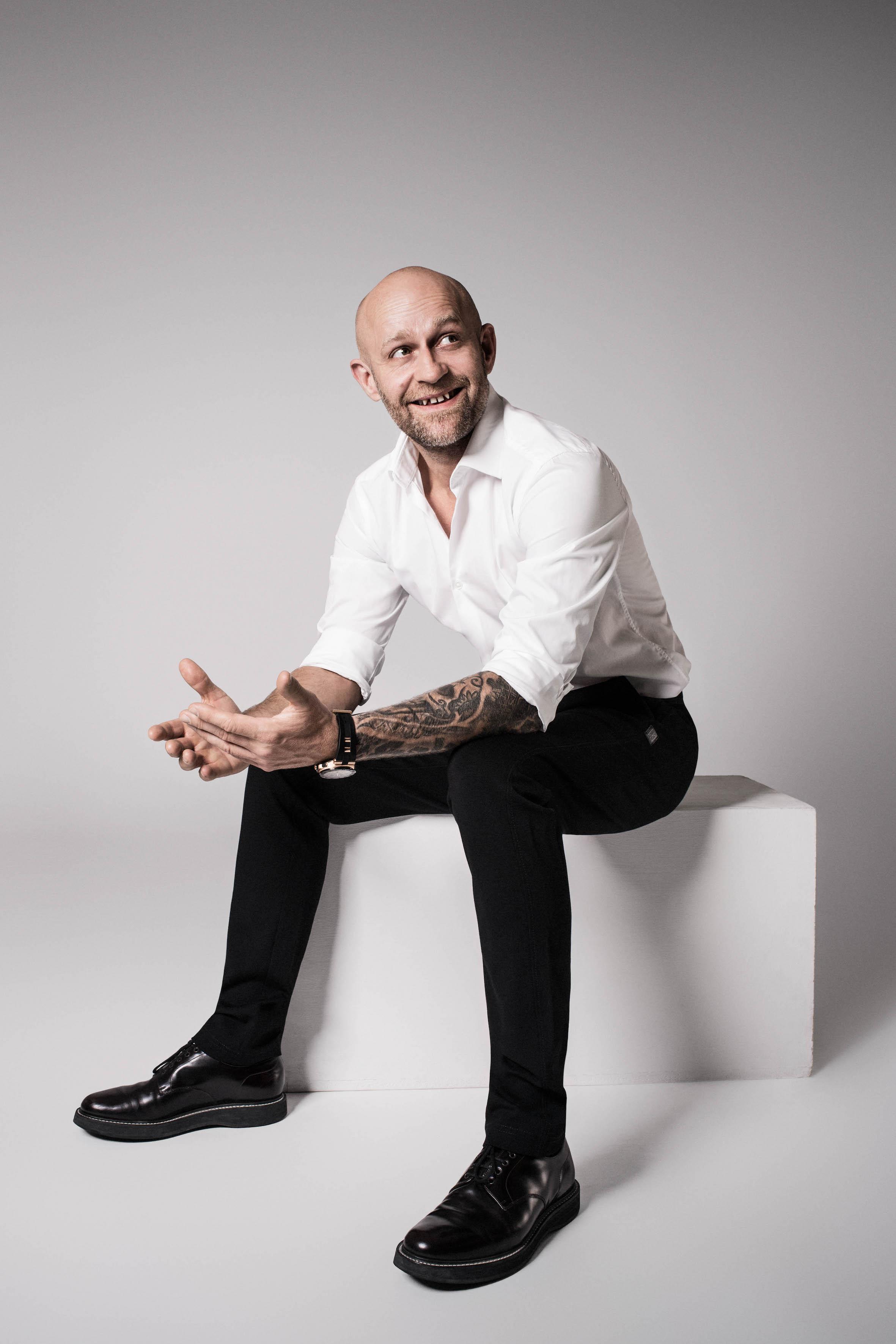 Modeshooting mit Schauspieler Jürgen Vogel