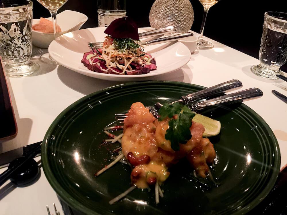 Gericht im Restaurant Grace im Hotel Berlin Zoo
