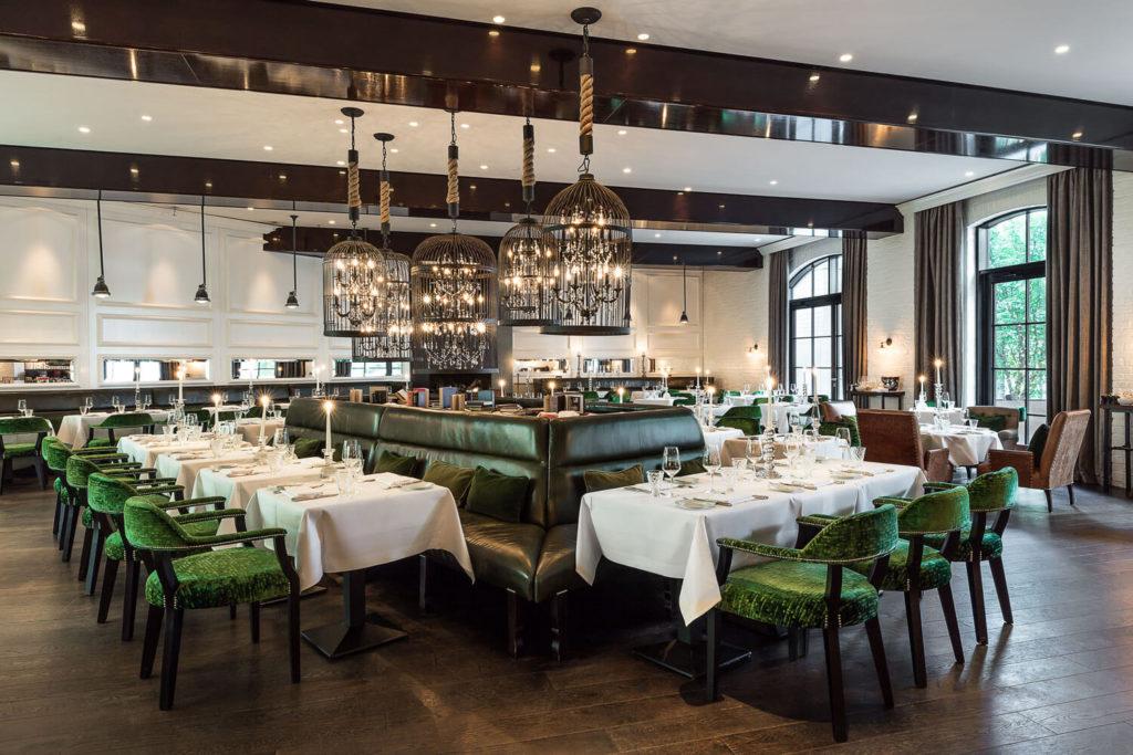 Das Restaurant Grace Panoramabild