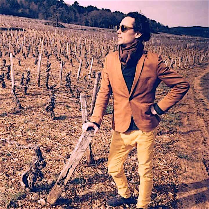 Porträt von dem Weinhändler Mathias Bouin-Thiedey aus Frankreich