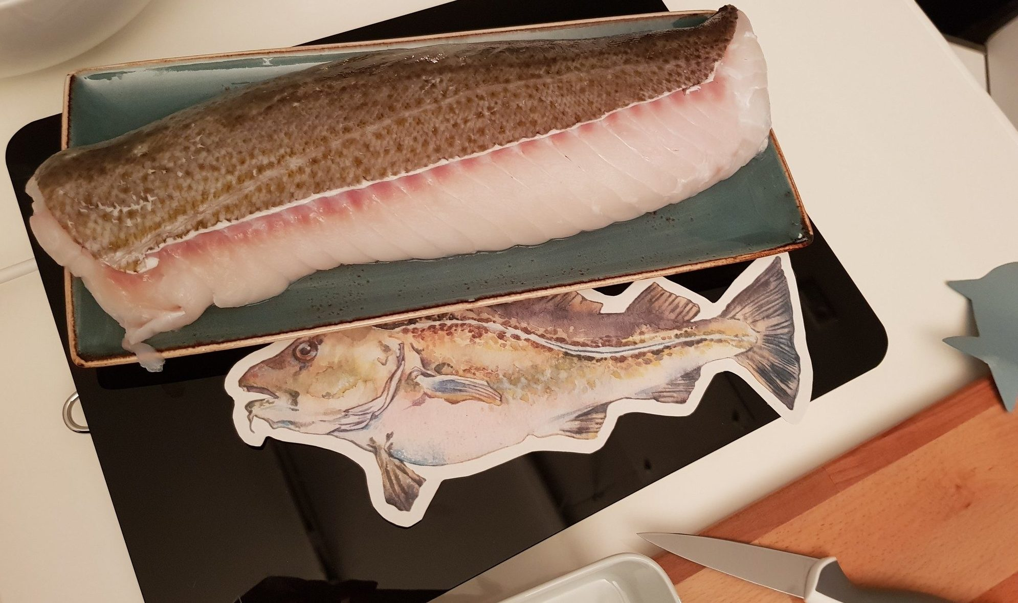 Frischer Fisch von MSC