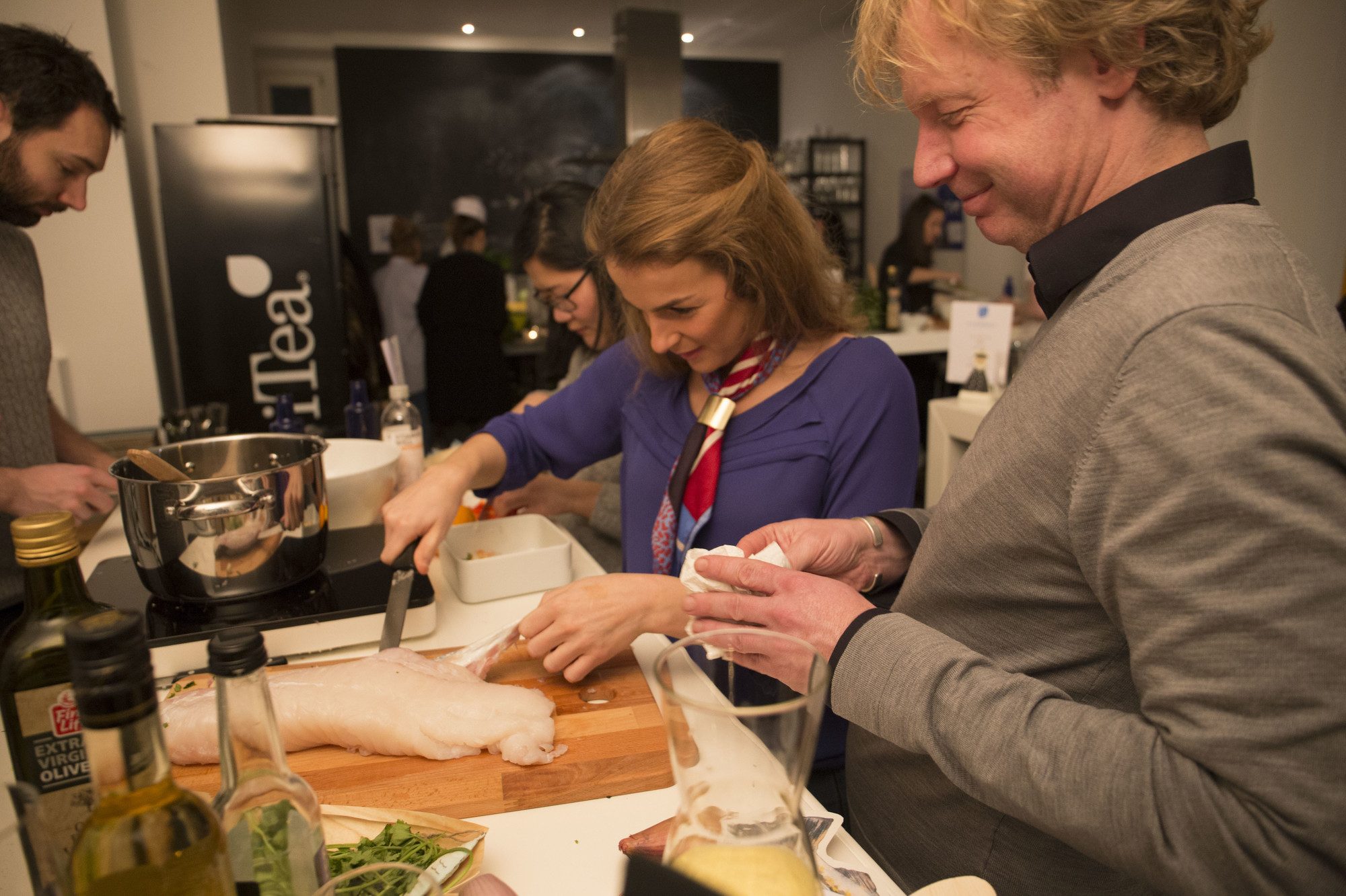 Kochen mit Bart van Olphen