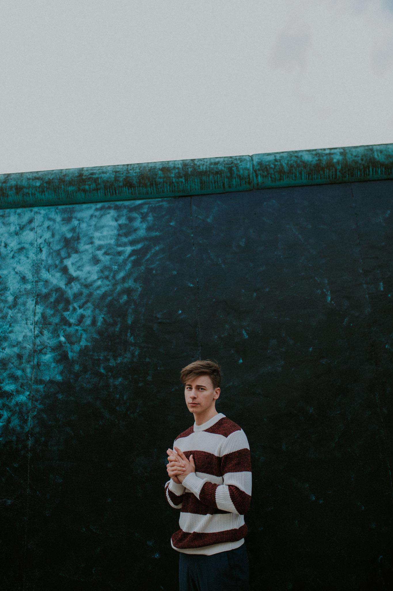 Porträt von Schauspieler Timmi Trinks