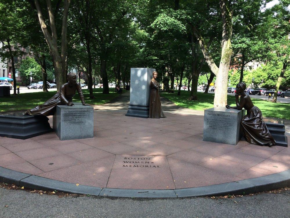 Reisebericht Boston. Das Frauen Memorial in Boston.