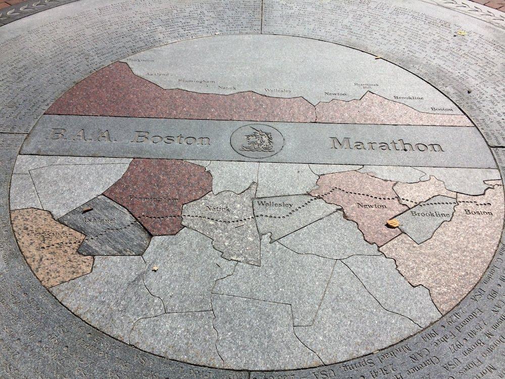 Reisebericht Boston. Ein Memorial über den Marathon in Boston.