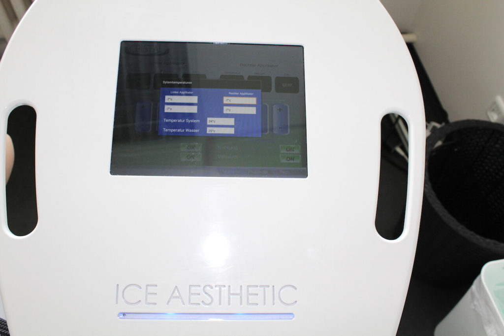 Kryolipolyse Gerät von Ice Aesthetic