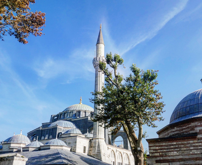Eine Moschee in Istanbul.