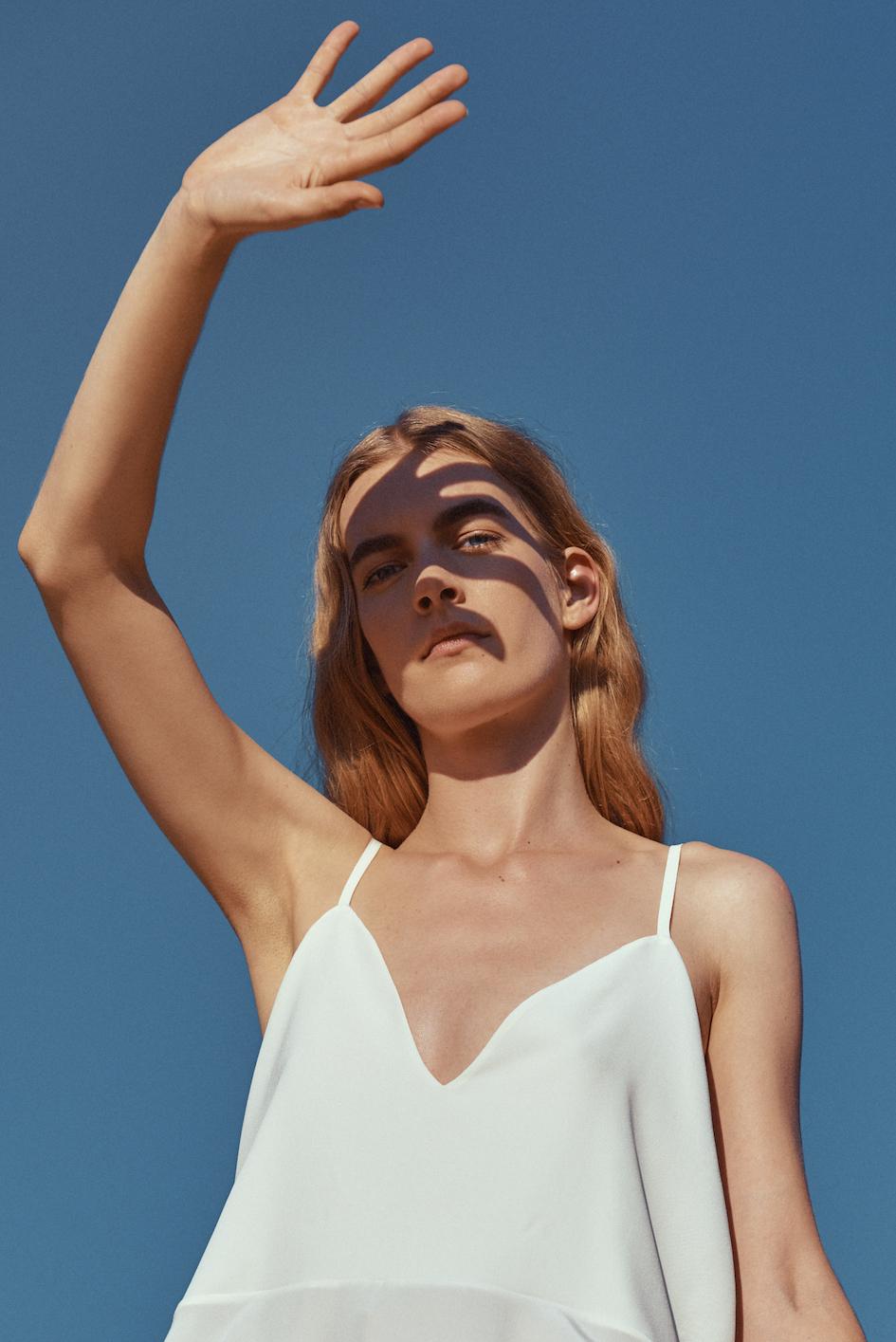 Marina Schwan Top Pearl
