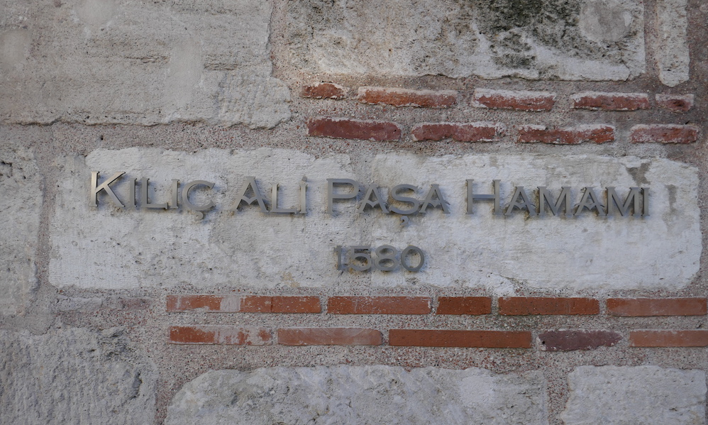 Das Kılıç Ali Paşa Hamami in Istanbul.