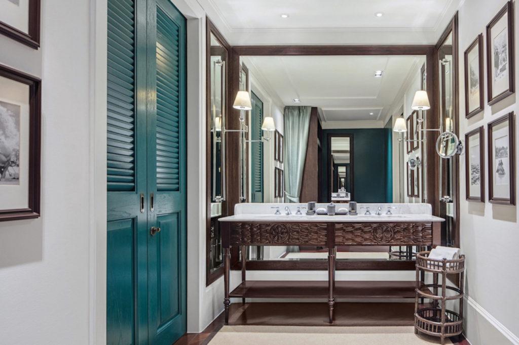 Hotel Badezimmer im 137 Pillars House