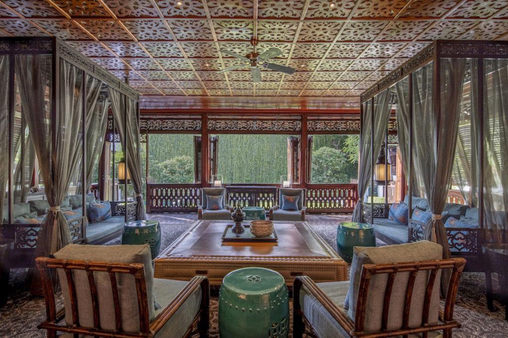 Orientalisch thailändische Lounge
