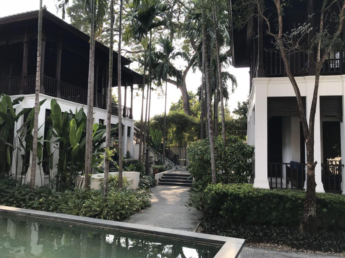 Hotelgarten Chiang Mai Thailand