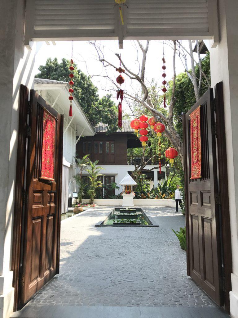 Hoteleingangsbereich Chiang Mai Thailand
