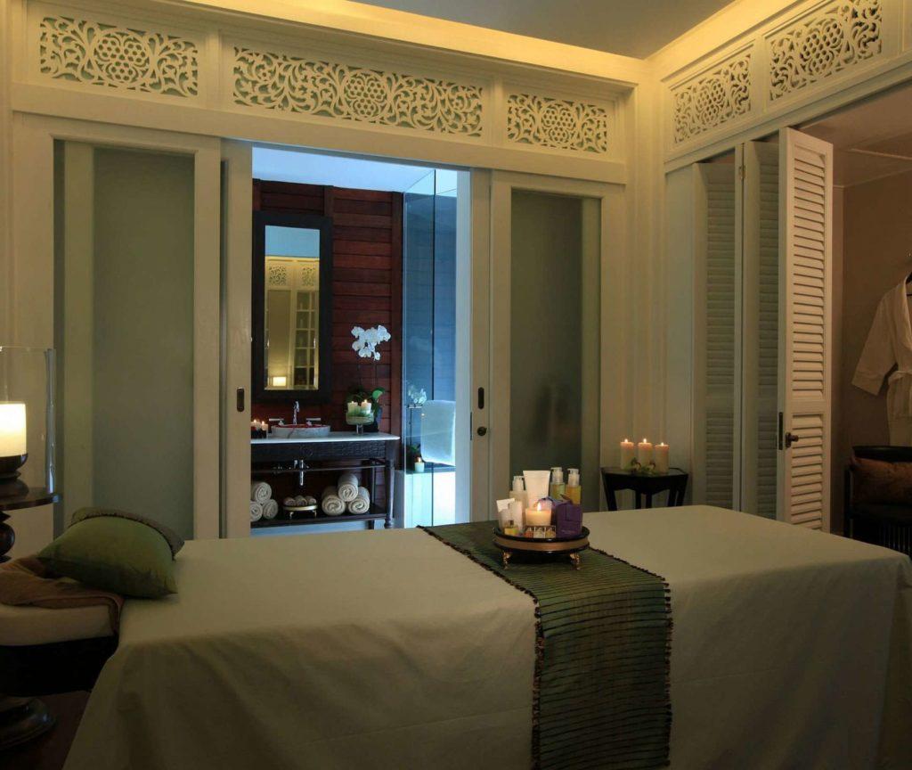 Behandlungsraum für Massagen und Kosmetik