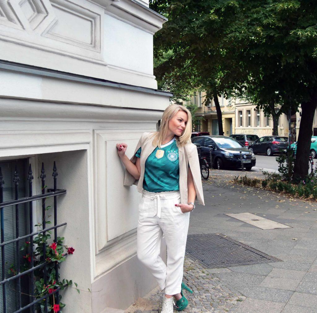 FIFA Fan Trikot WM 2018 Outfit Ideen grün weiss