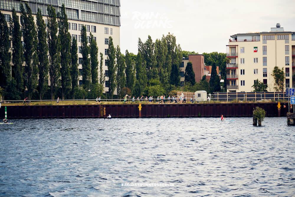 Der Run for the Oceans von adidas x Parley in Berlin.