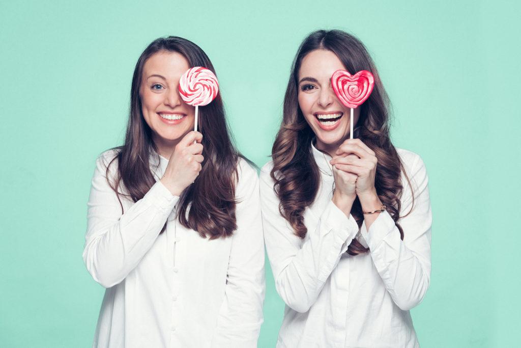 Ein Bild von Freundin Cosima und Helena Reich