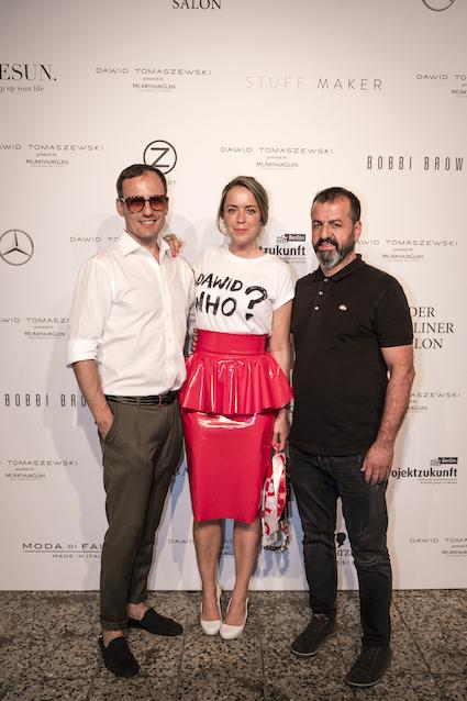 Marina Hoermanseder zu Gast bei Dawid Tomaszewski Berliner Fashion Week SS19