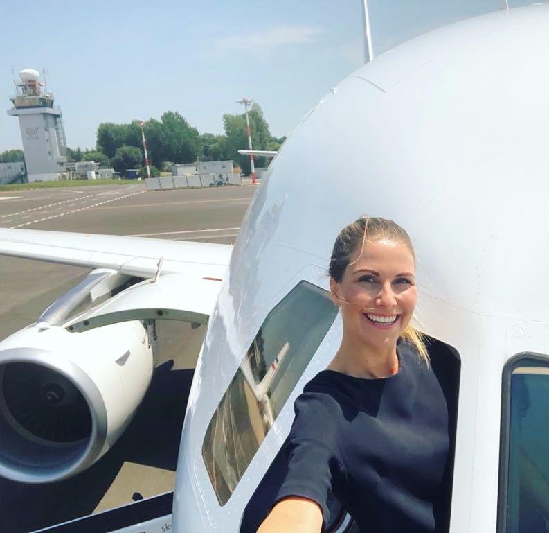 Das Leben als private Flugbegleiterin