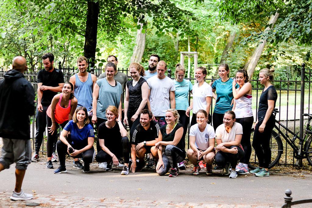 Gruppenfoto Sportgruppe