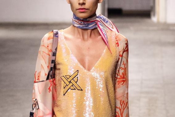 Dawid Tomaszewski SS19 Berlin Fashion Week Look Detail