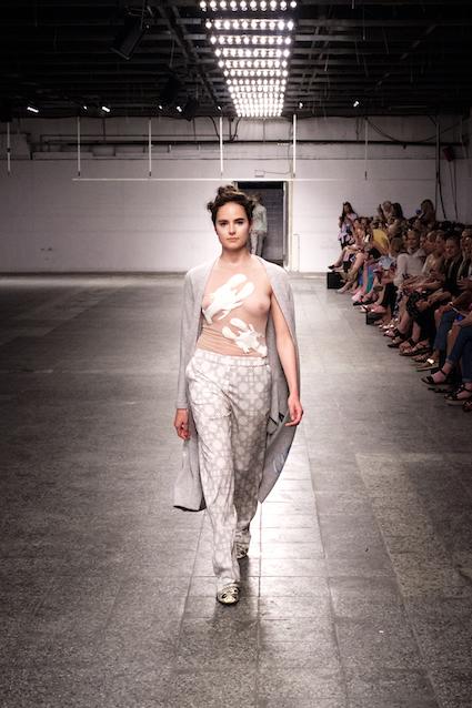 Dawid Tomaszewski SS19 Berlin Fashion Week Transparent