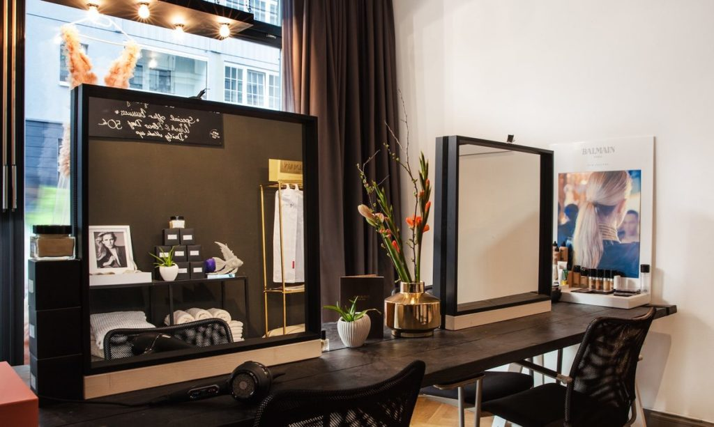 Dodo's Blow Dry Bar Innen