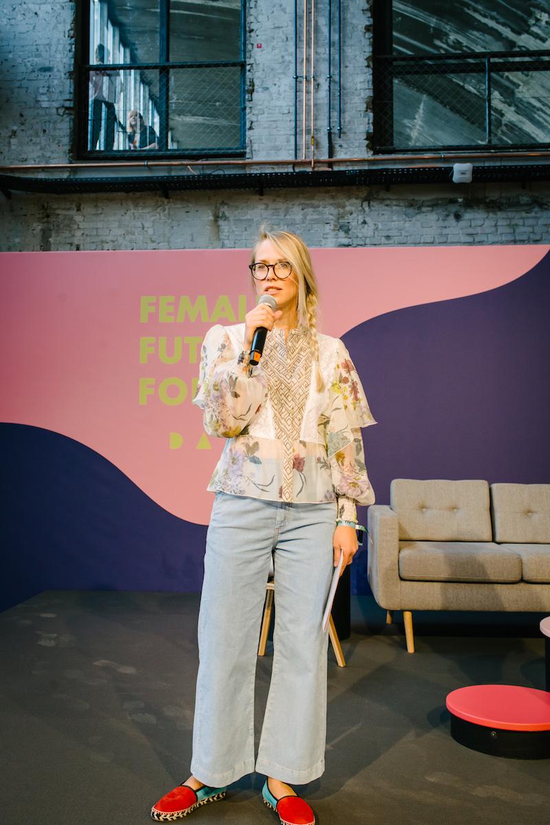 Susann Hoffmann von FFF Day im Portrait