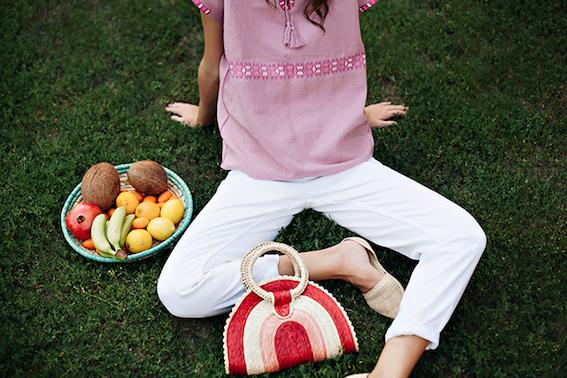 Quesadilla Bag von Nandi beim Picknick