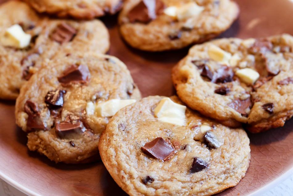 Ein einfaches und sehr leckeres Rezept für American Cookies oder auch Schokokekse.