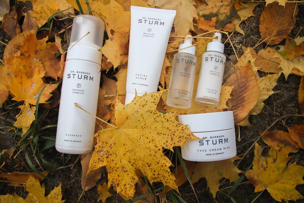5 Produkte von Dr. Barbara Sturm für eine optimale Hautpflege.