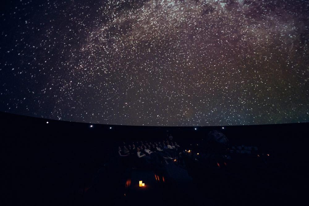 Sternenhimmel im Zeiss-Großplanetarium Salute the Moon Event
