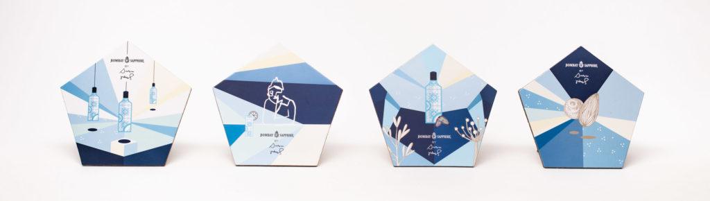 Bombay Sapphire Limited Edition designed von Darwin Stapel.