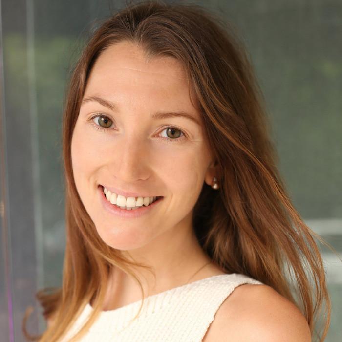 Gründerin Corinna Dieckenbrok vom nachhaltigen Modelabel Vanilla Sand.