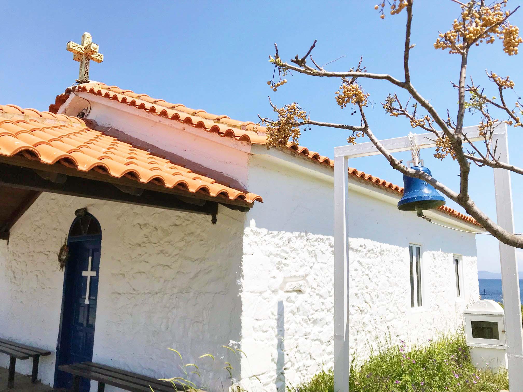Dorfkirche auf Chalkidiki in Griechenland