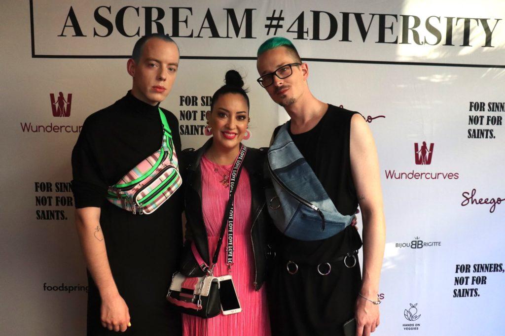iyabi Kawai auf der Sheego #4diversity Party zur Fashion Week SS 2020